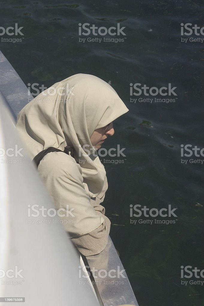 hijab royalty-free stock photo