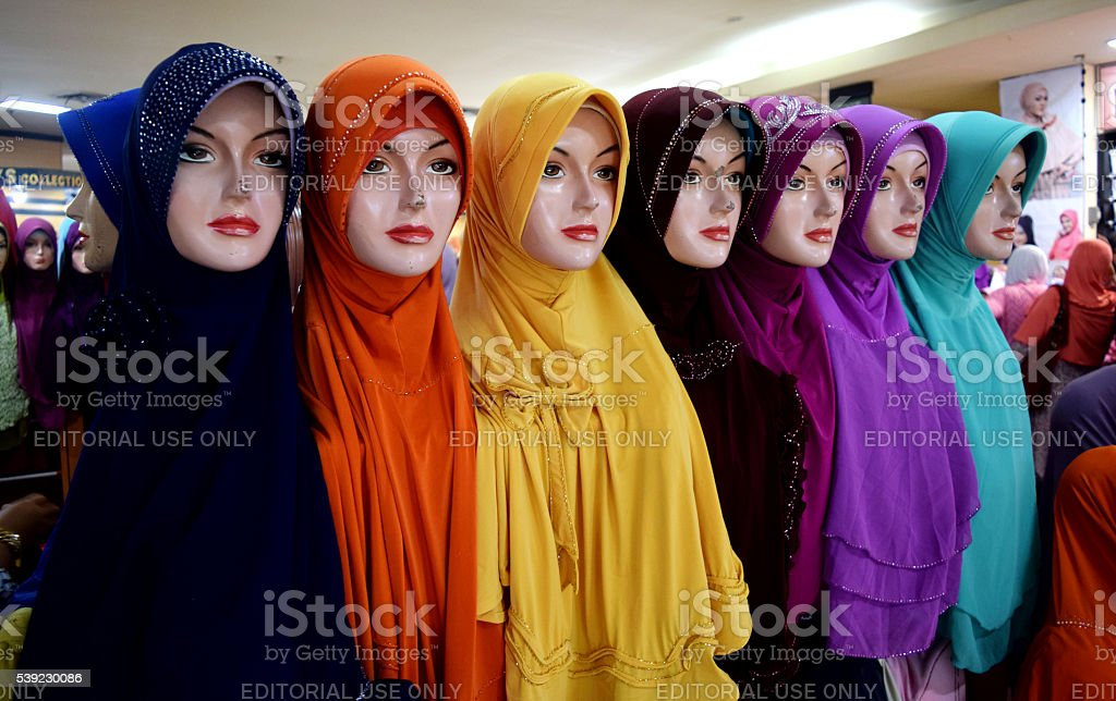 Hijab surabaya stock photo