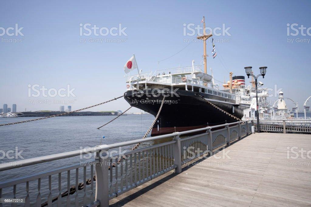 Hikawa Maru stock photo