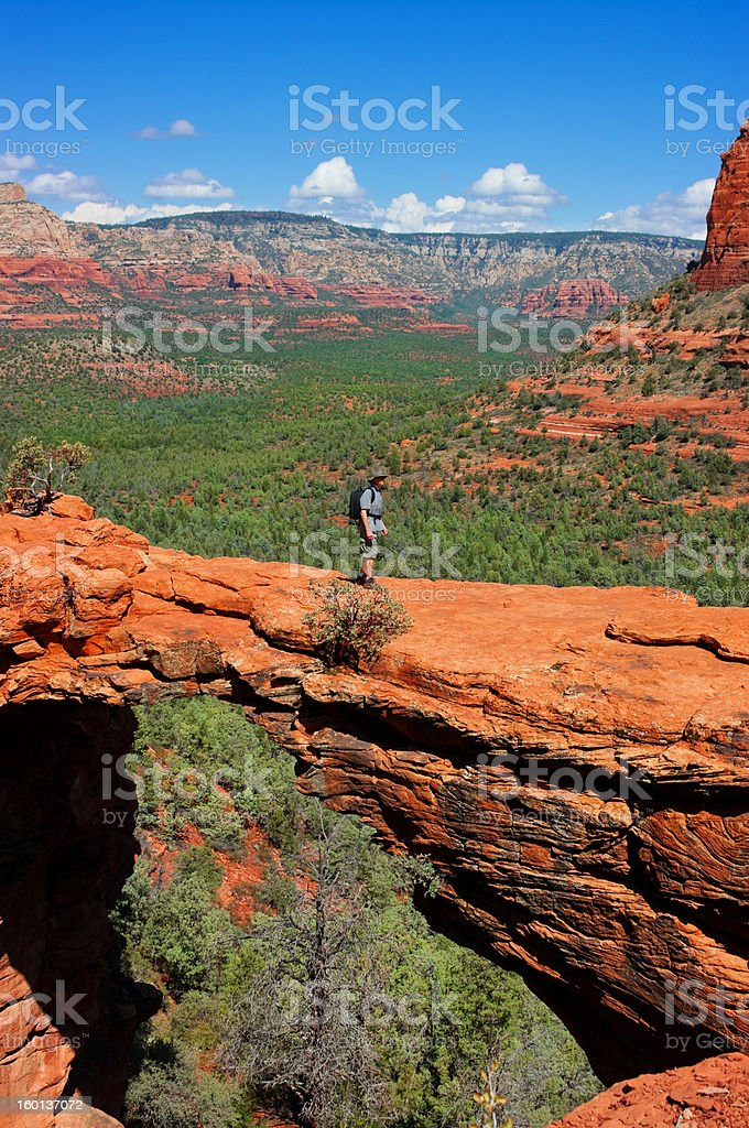Hike stock photo