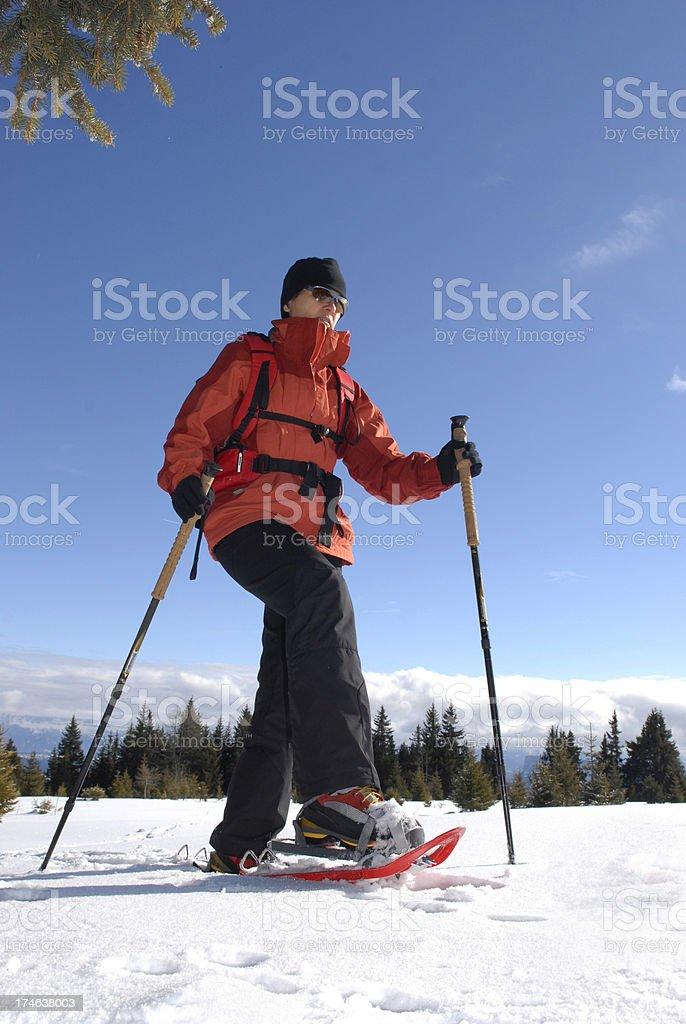 Hike royalty-free stock photo