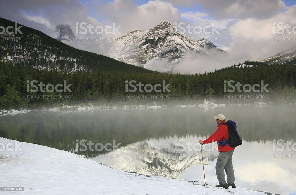 Hiker 4 royalty-free stock photo