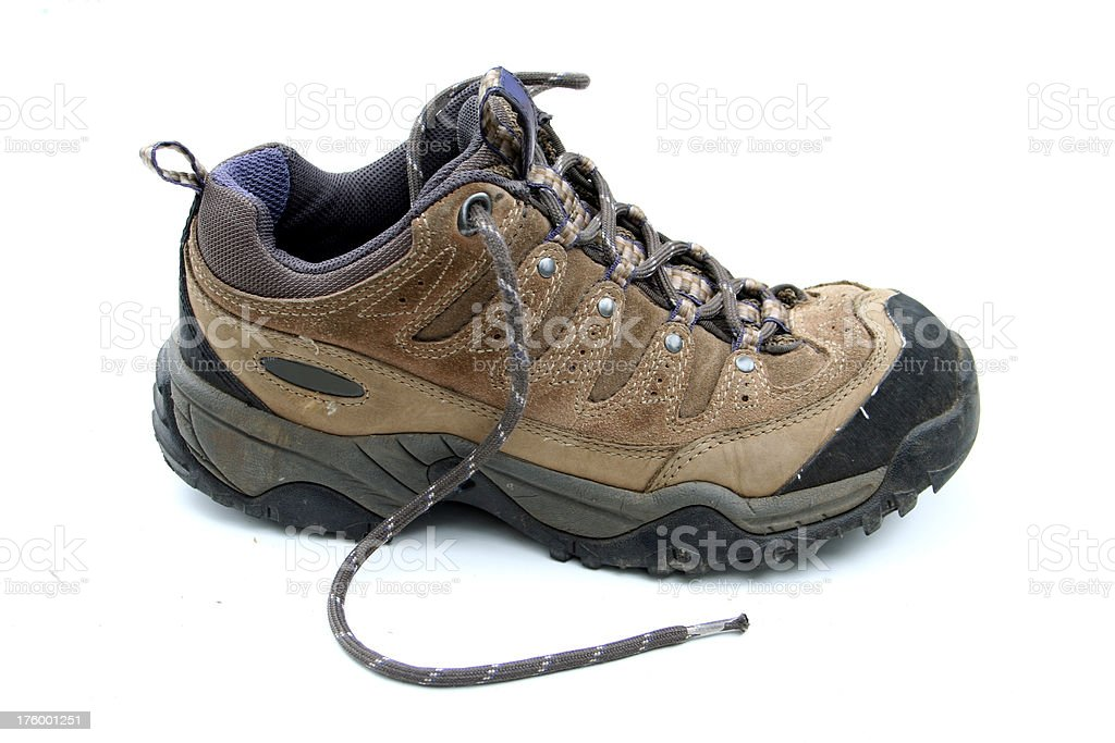 Hiking Boot royalty-free stock photo