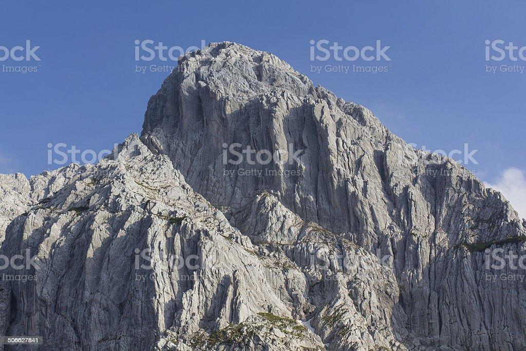 Hiking in Austria stock photo