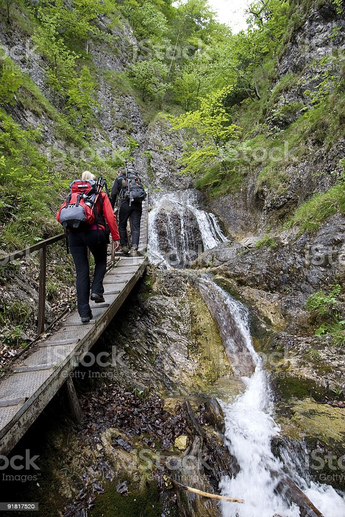 Hiking in Mala Fatra, Slovakia royalty-free stock photo
