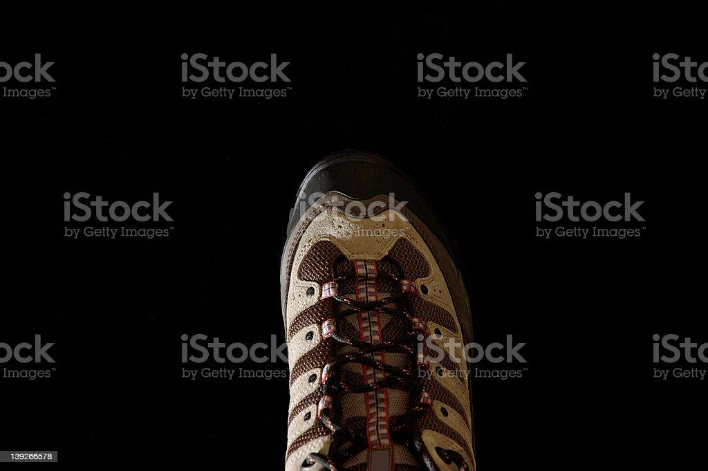 Hiking Shoe stock photo