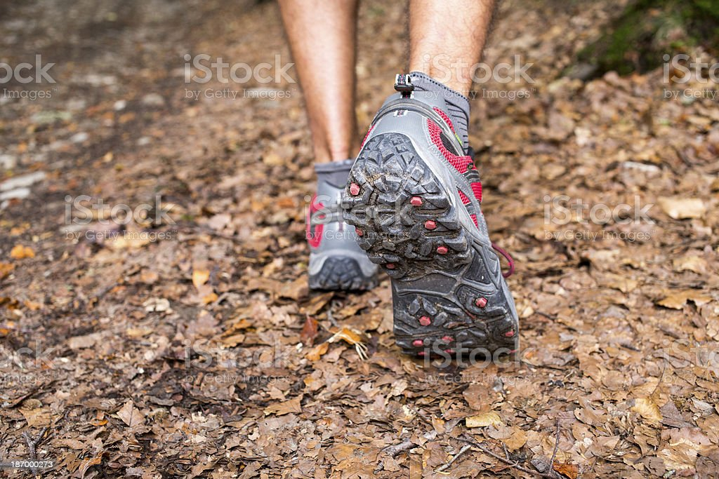 Hiking shoes royalty-free stock photo