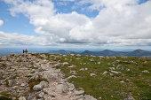 Hiking the Hunt trail on Katahdin