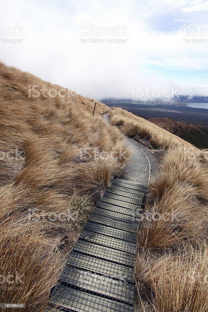 Hiking Trail stock photo