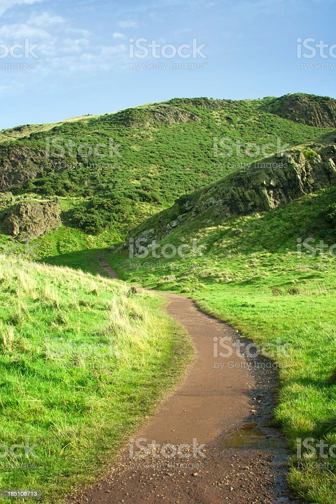 Hiking Trail royalty-free stock photo