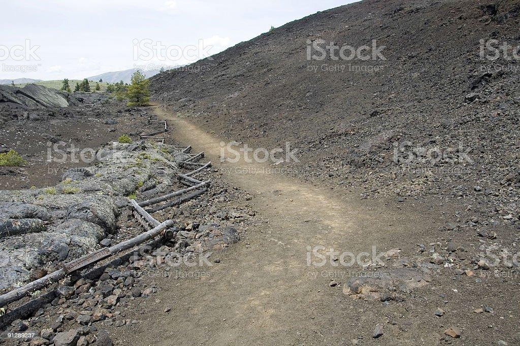 Hiking Trail royalty-free stock photo