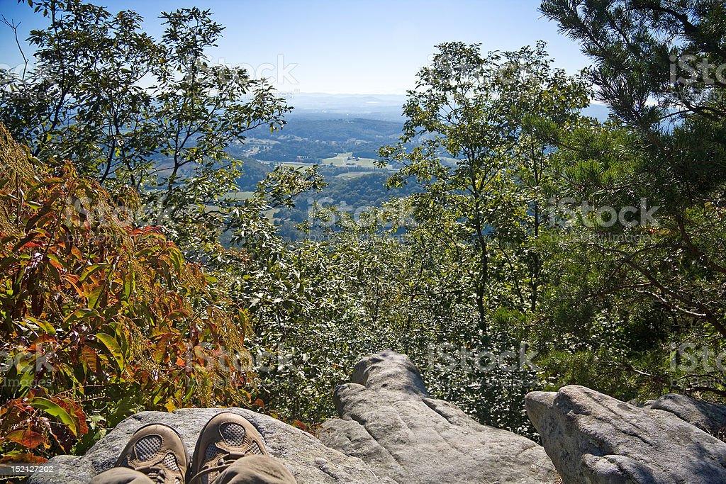 Hiking View stock photo