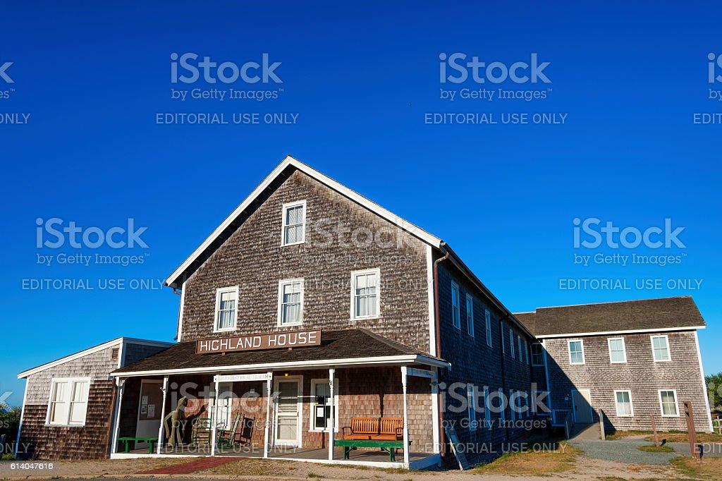 Hiland House on Cape Cod stock photo