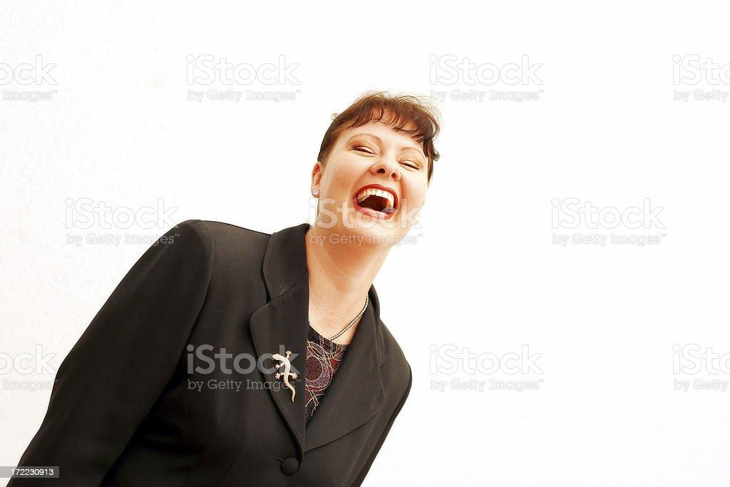 Hilarity royalty-free stock photo