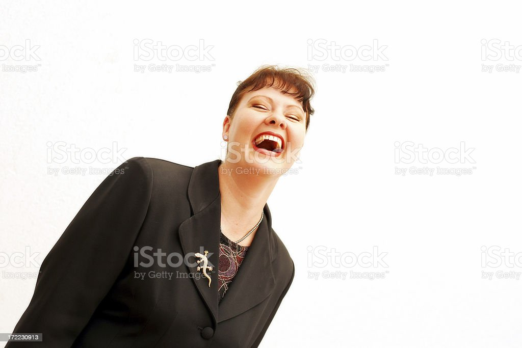 Hilarity stock photo