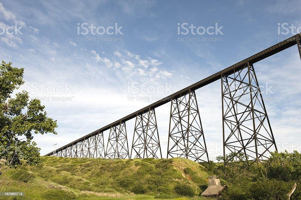 Hi-Level Bridge royalty-free stock photo