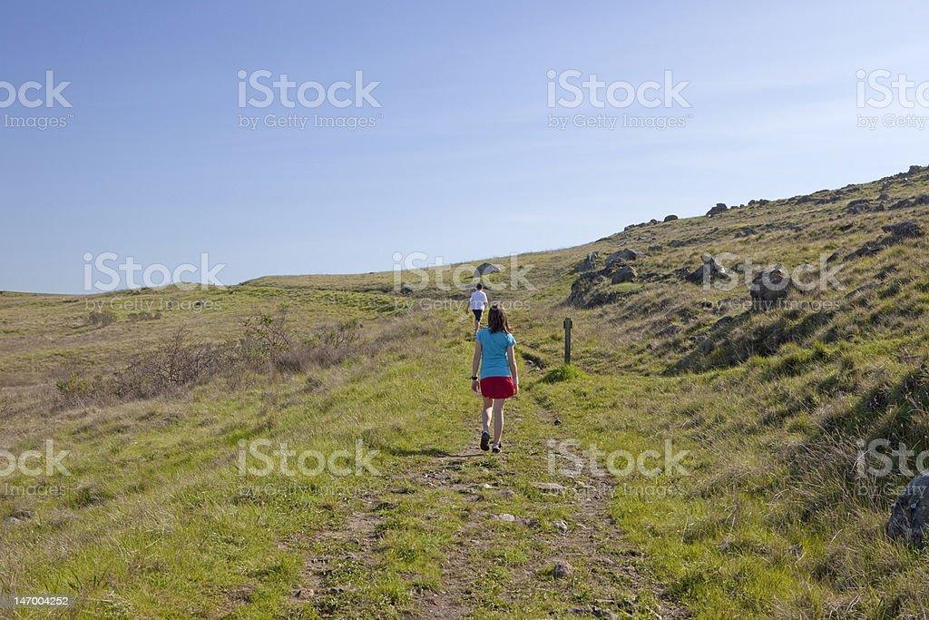 Hill Climb royalty-free stock photo
