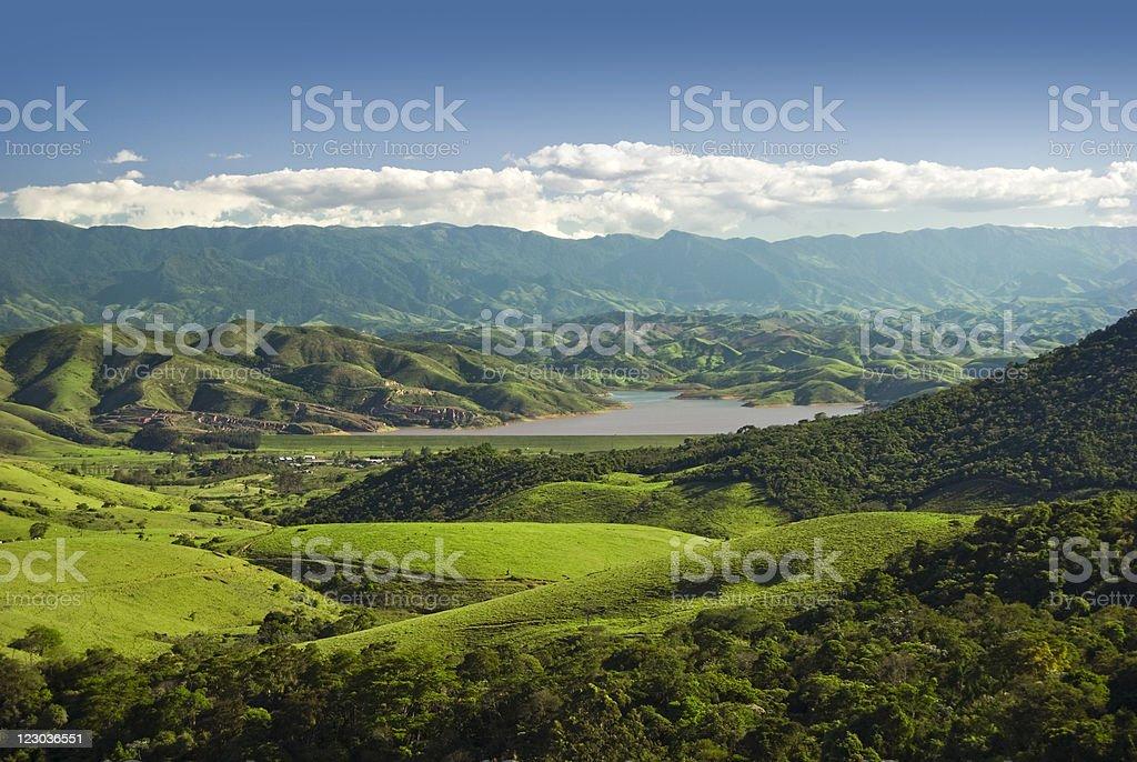 Hill Hange background royalty-free stock photo