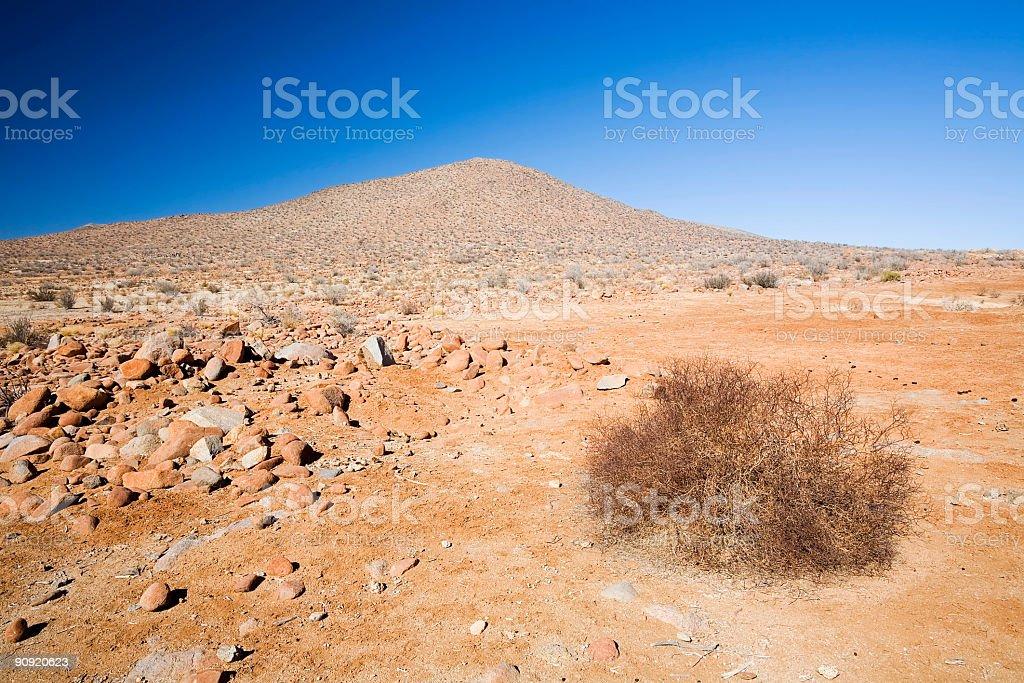 Hill in the Atacama Desert royalty-free stock photo