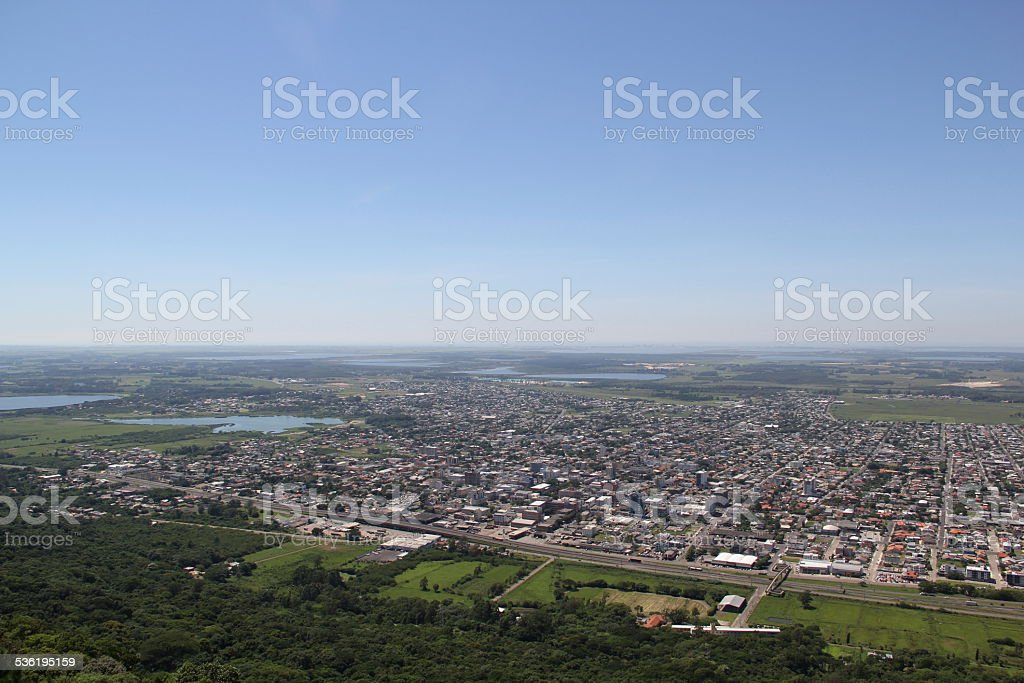 Hill of Bor (Morro da Bor?ssia). stock photo