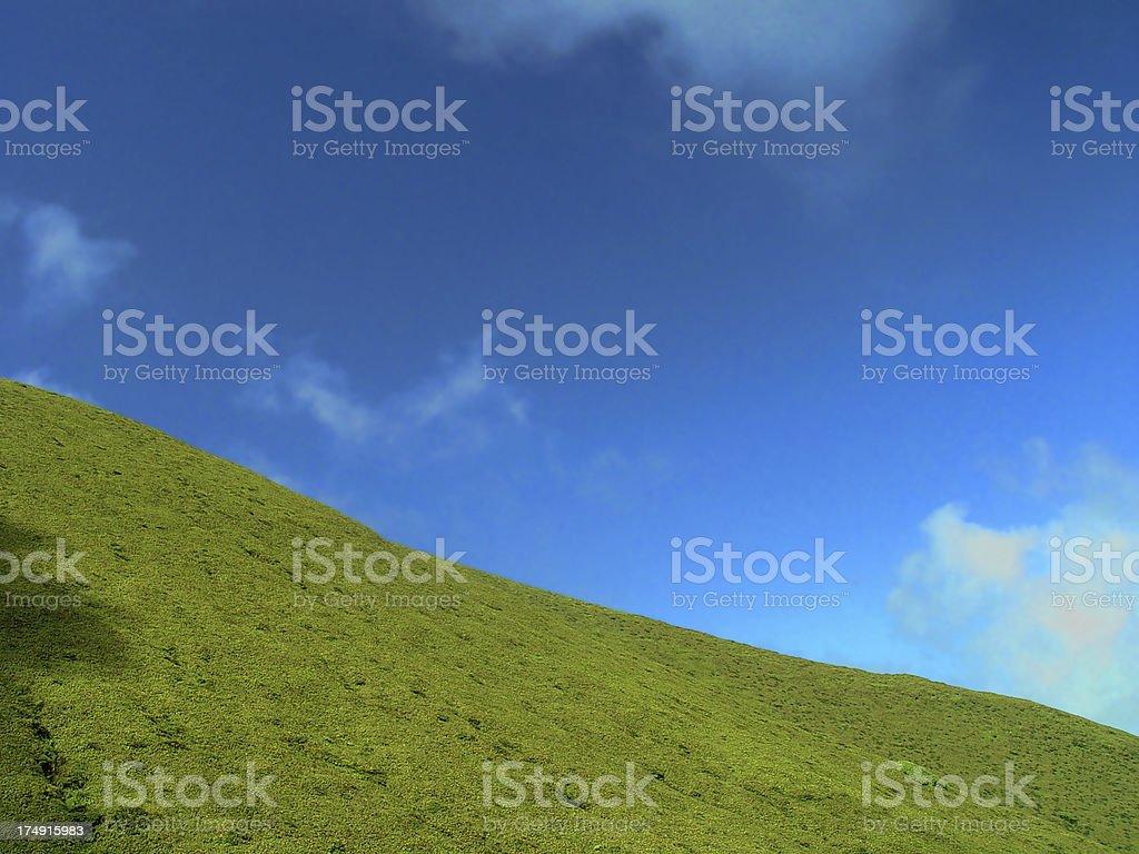 XP Hill royalty-free stock photo