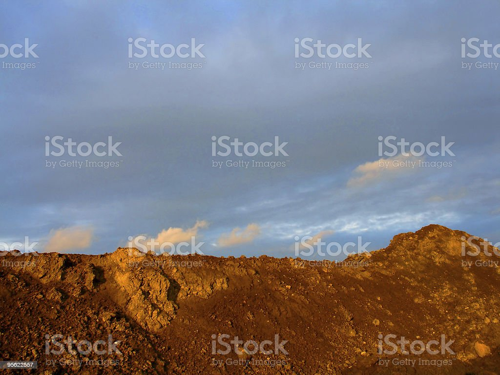 hill stock photo