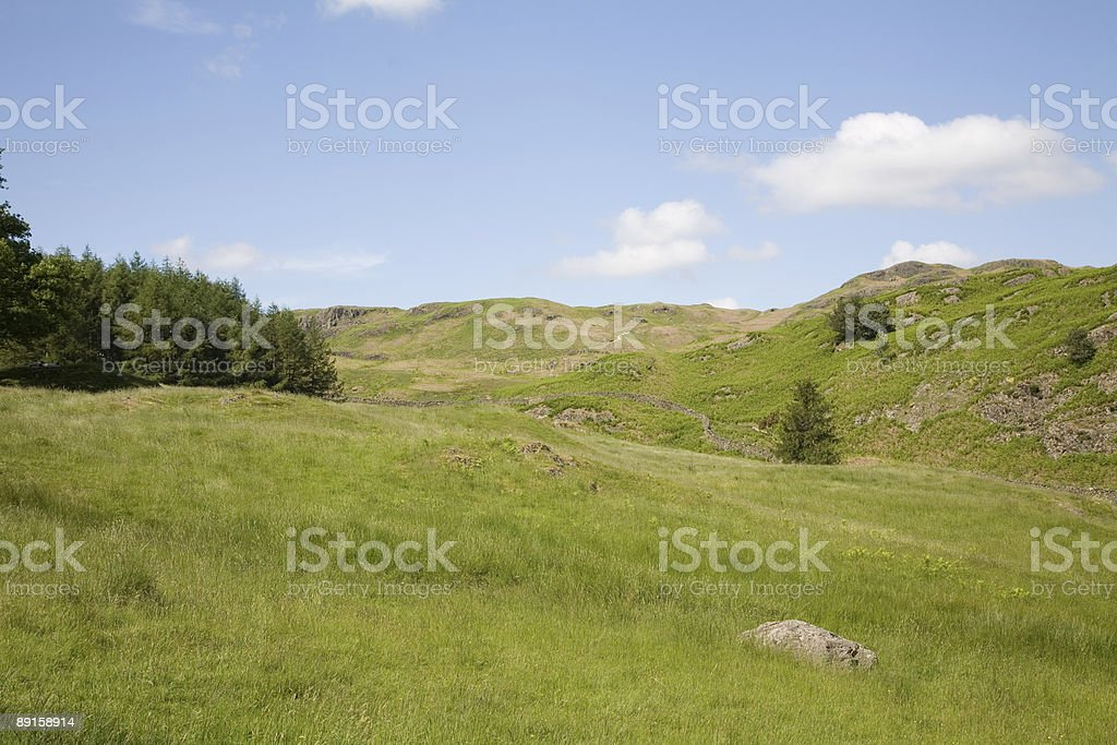 Hill Top royalty-free stock photo