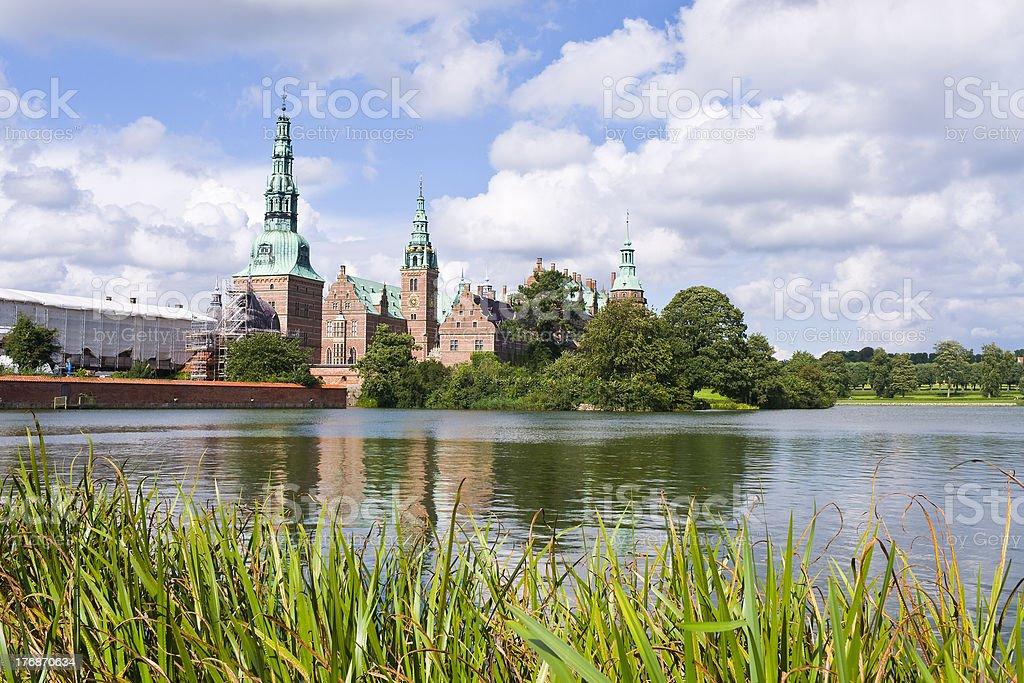 hillerod, denmark: frederiksborg castle stock photo