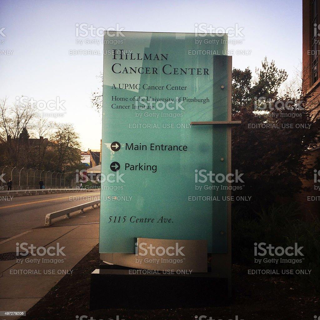 Hillman Cancer Center Pittsburgh stock photo