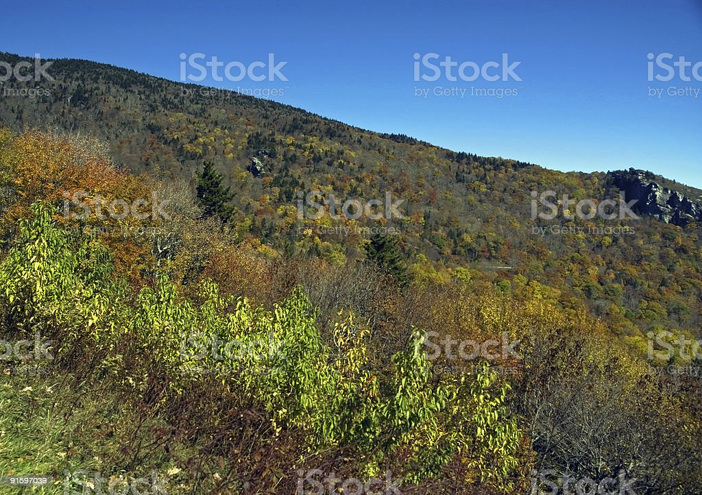 Hills Alive With Color royalty-free stock photo