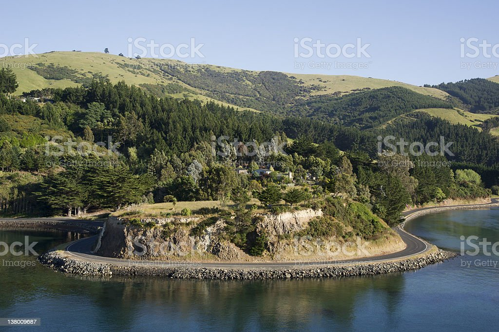 Hills landscape royalty-free stock photo