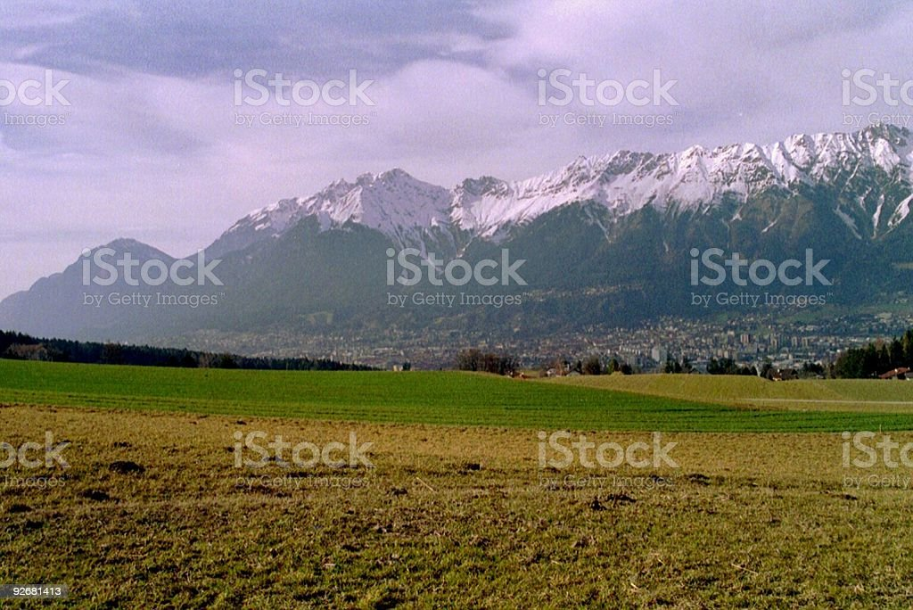 Hills of Austria another view royalty-free stock photo