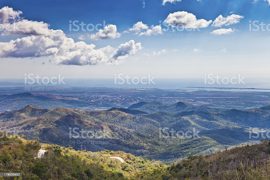 Hills of Cuba royalty-free stock photo