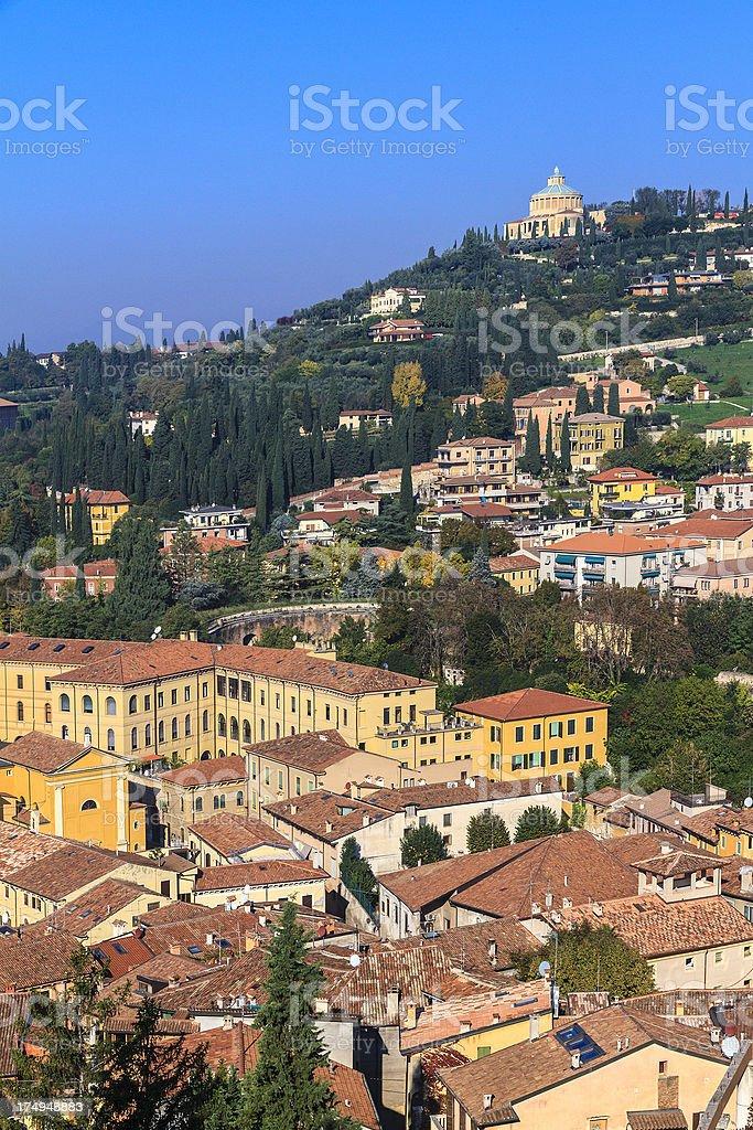 Hills of Verona, Italy royalty-free stock photo