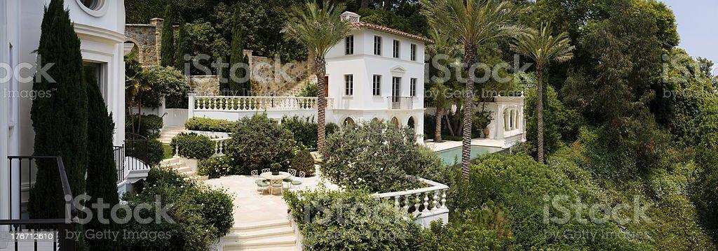 hillside estate royalty-free stock photo