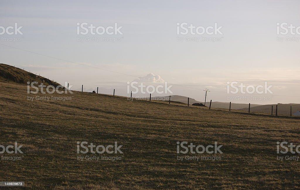 Hillside stock photo
