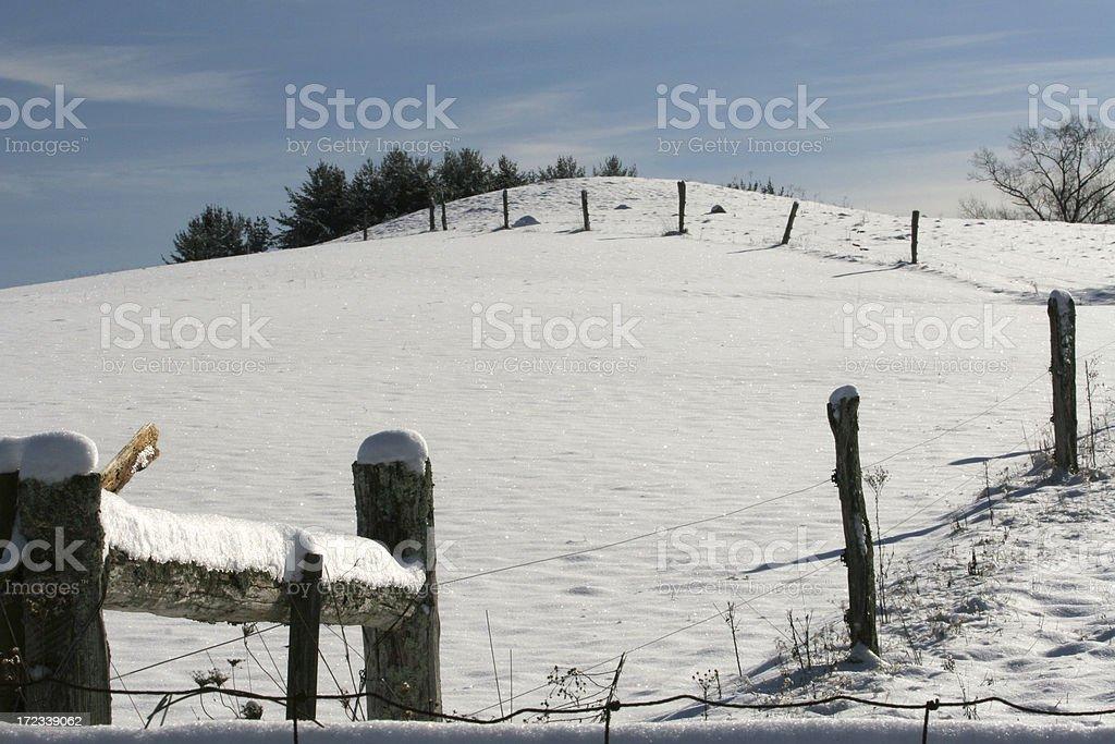 Hilltop stock photo