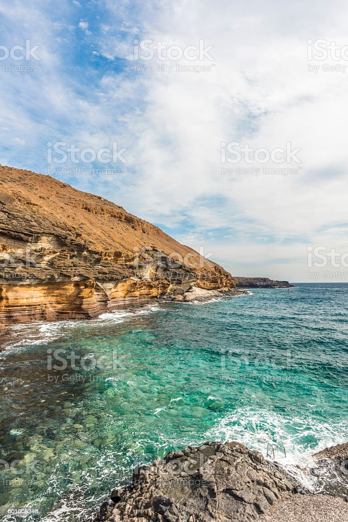 Hilly Cape stock photo