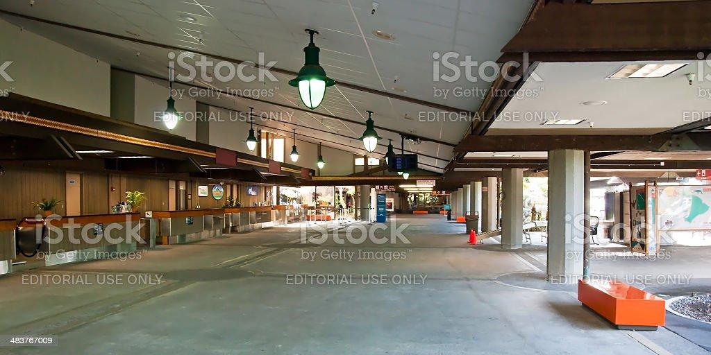 Hilo International Airport on Big Island, Hawaii royalty-free stock photo