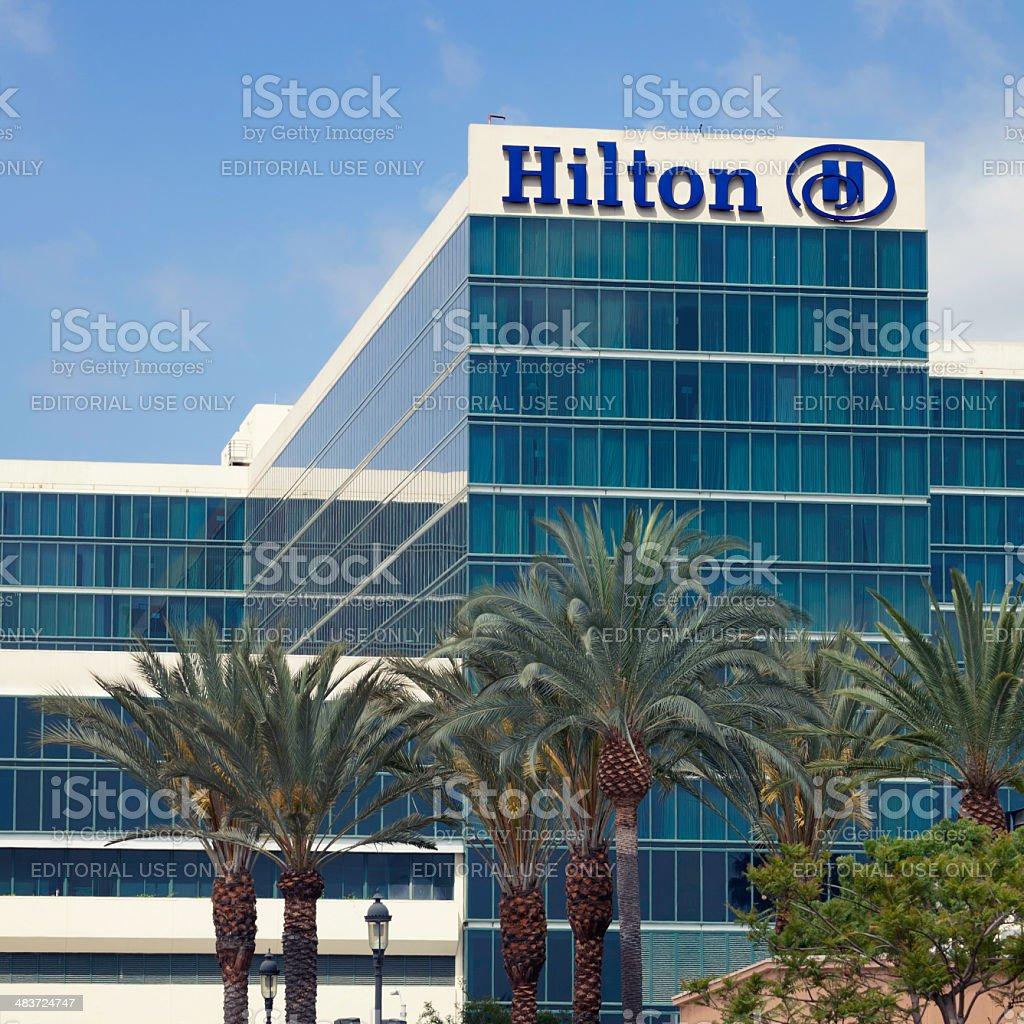Hilton Anaheim stock photo