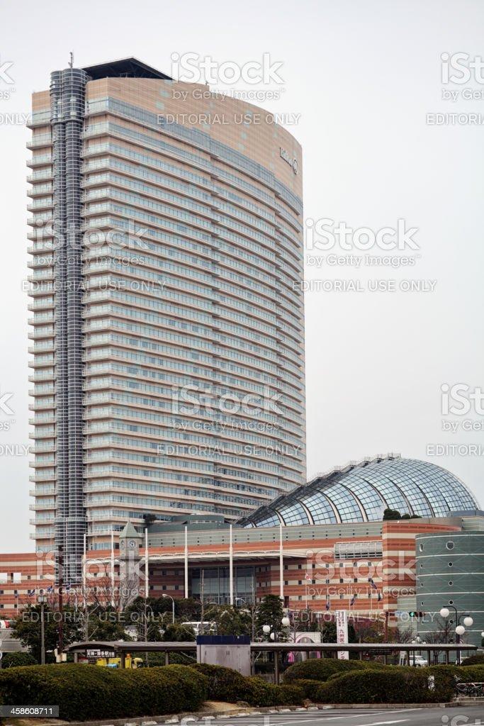 Hilton Fukuoka Sea Hawk hotel stock photo