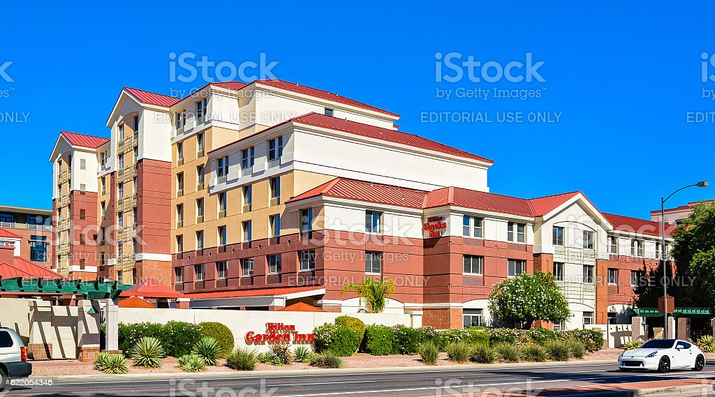 Hilton Garden Inn - Scottsdale, AZ stock photo