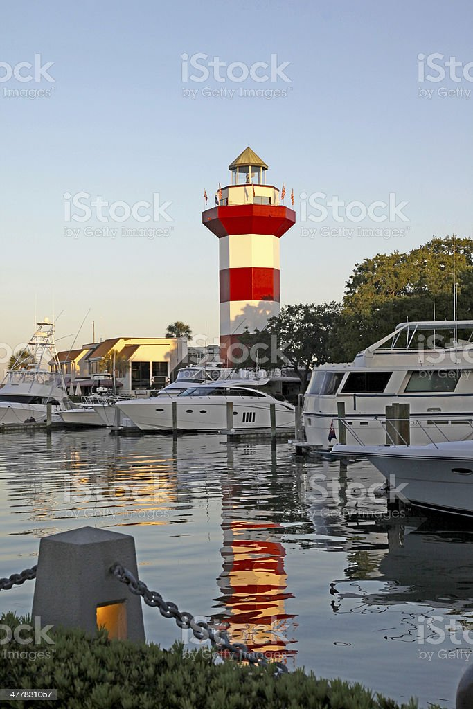 Hilton Head at Dawn royalty-free stock photo