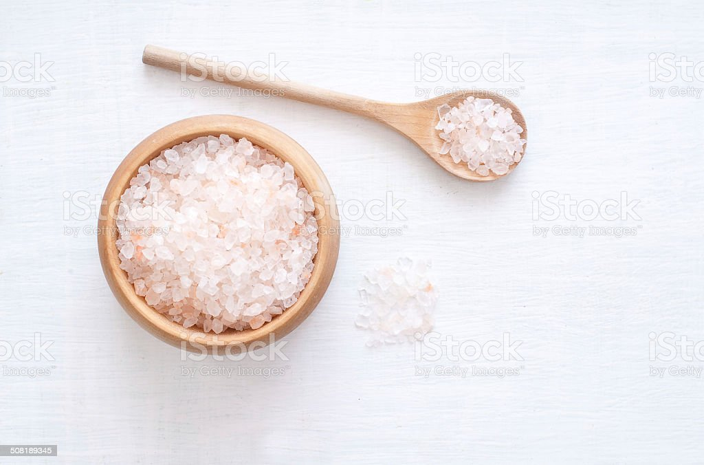 Himalaya Salt stock photo