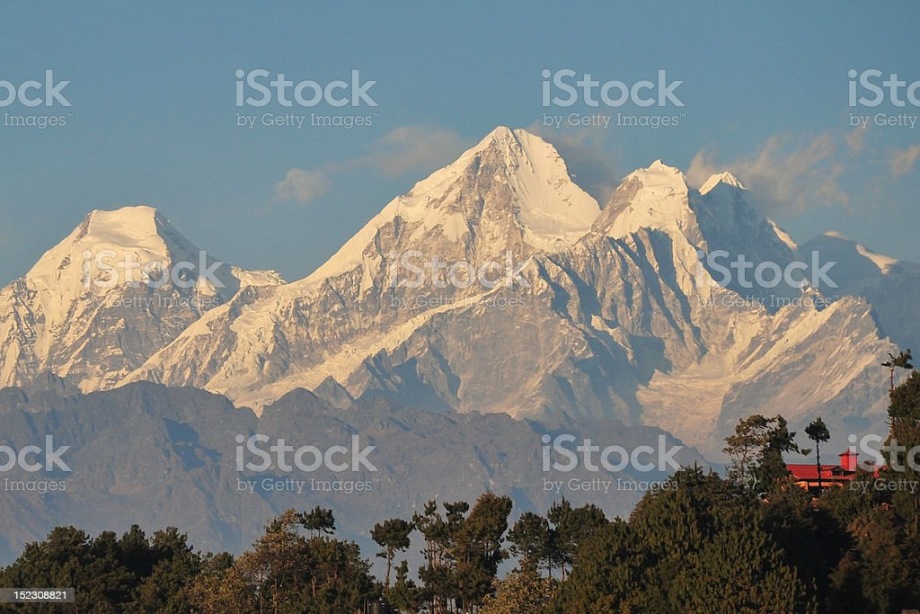 Himalayan Beauty stock photo