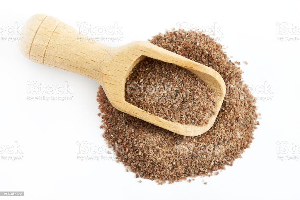 Himalayan black salt (Kala namak) stock photo