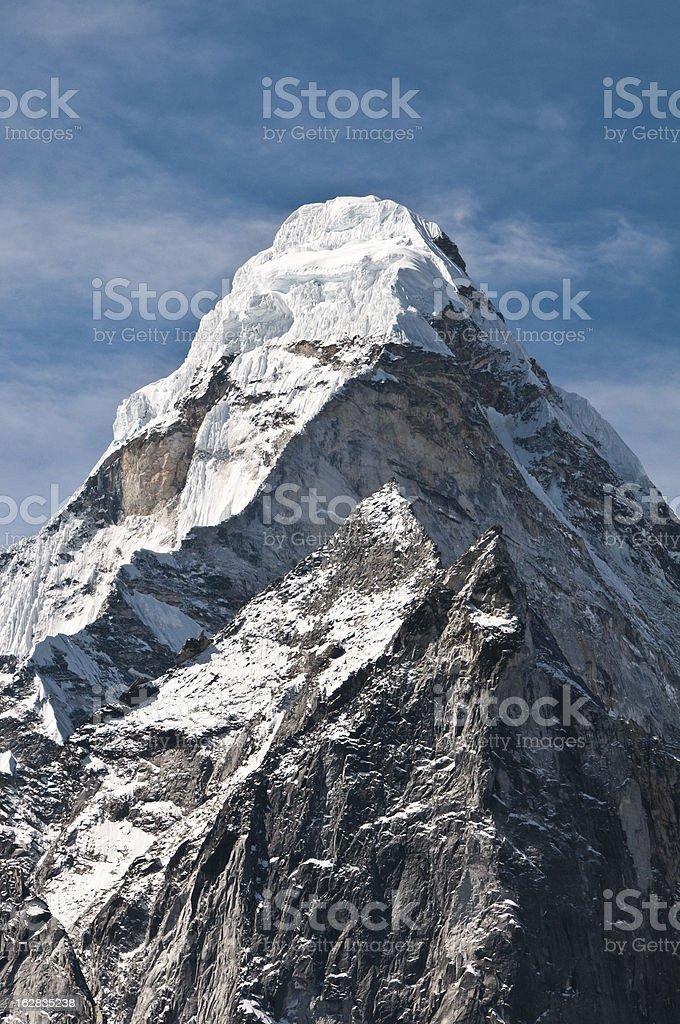 Himalayan Mountain stock photo