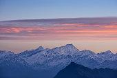 himalayan mountains from Laurebina Yak