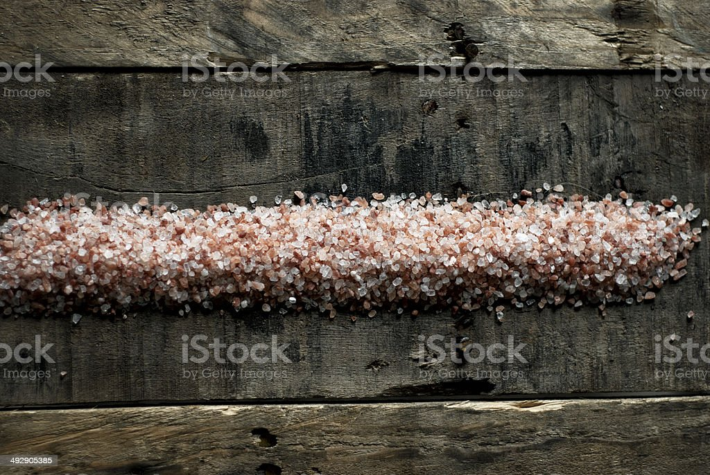 Himalayan Pink Salt royalty-free stock photo