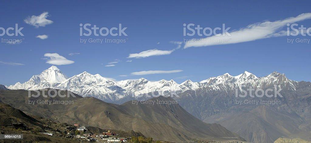 Himalayan View stock photo